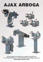 56658 Ajax Arboga brochure 32pp plus cover - Ajax Machine Tools