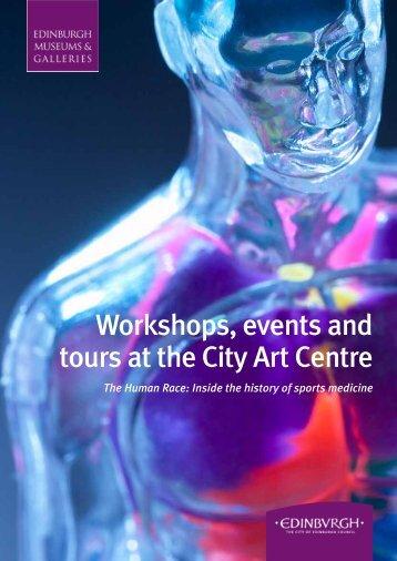 Workshops, events and tours at the City Art Centre - Edinburgh ...