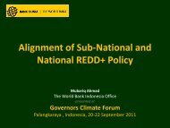 Mubariq Ahmad - World Bank - Governors' Climate and Forests Task ...