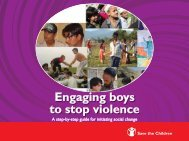 Engaging Boys to Stop Violence - XY online