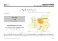 Pays de Haute Provence 2003 Etat des lieux ... - Arcade PACA