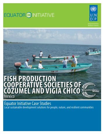 fish production cooperative societies of cozumel ... - Equator Initiative