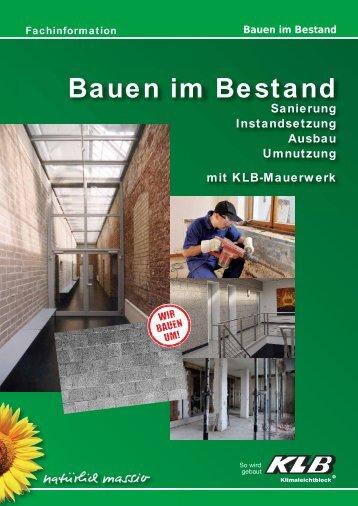 Bauen im Bestand - OBW GmbH