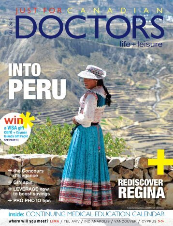 regina - Just For Canadian Doctors Magazine