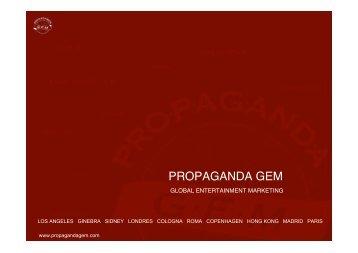 German Matt, Director General de PROPAGANDA ... - RedIRIS