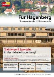 Für Hagenberg - April 2012 - SPÖ