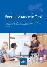 A-Kurs - Energie Tirol