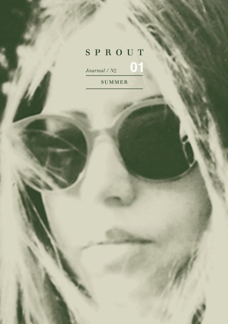 SPROUT Journal | Summer 01