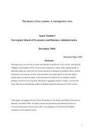 Sandmo-The theory of tax evasion - BIBSYS Brage