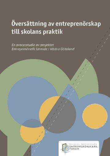 """""""Översättning av entreprenörskap till skolans praktik"""" (1 - Luleå ..."""