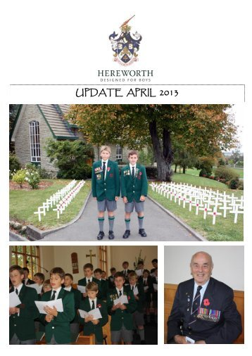 UPDATE APRIL 2013 - Hereworth School