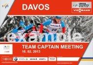 TCM - Distance - Davos Nordic
