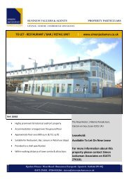 The Royal Hotel 1 Marine Parade East Clacton on Sea ... - RPAS