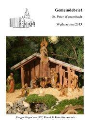 Gemeindebrief Weihn2013-Gesamt.sda - Pfarrei St. Peter ...