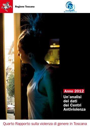 Quarto Rapporto sulla Violenza di Genere in Toscana - servizi on-line
