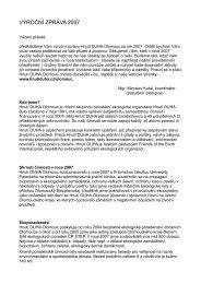 Výroční zpráva 2007 ke stažení (pdf). - Hnutí DUHA