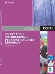 coopération internationale des parcs naturels régionaux
