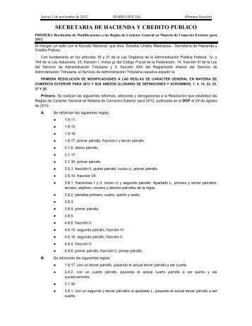 SECRETARIA DE HACIENDA Y CREDITO PUBLICO - Indetec