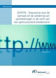 Sofista - Nationale Bank van België