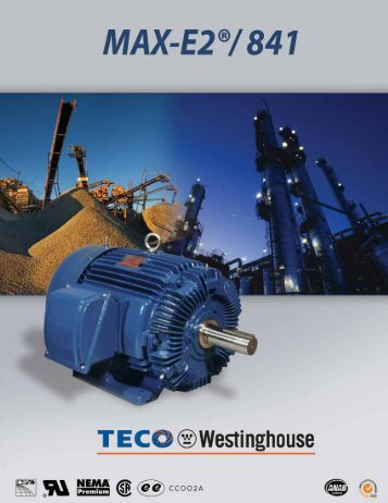 MAX-E2/ 841™ brochure - printer friendly - TECO-Westinghouse ...