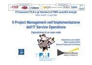 Il Project Management nell'Implementazione dell'IT ... - PMI-NIC