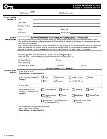 Customer Identification Form – Joint accounts, Company ... - MLC