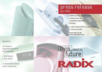 release.....Press release......Press release.....Press release ... - Radix