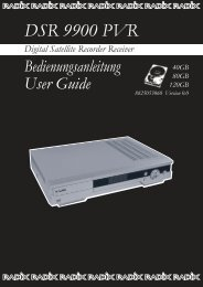 DSR 9900 PVR - Radix