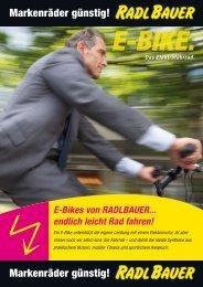 E-Bikes - Radlbauer