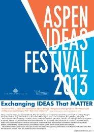 AI Insert 2013_6-18.indd - Aspen Ideas Festival