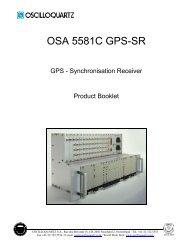 OSA 5581C GPS-SR - Unitest.com