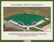 Sunshine Ballpark - Ability Field - Fredericksburg, VA - Ultra Base ...