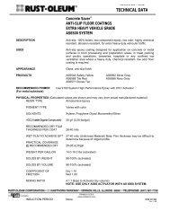 AS5400 SYSTEM ANTI-SLIP ONE STEP EPOXY - Rust-Oleum