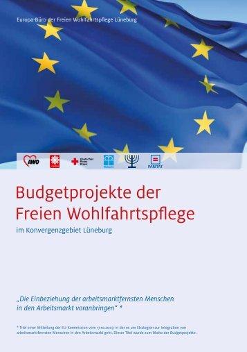 Budgetprojekte der Freien Wohlfahrtspflege - Lag-fw-nds.de
