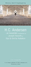 H C Andersen - Skoletjenesten