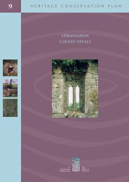 Download Conservation Plan: Lemanaghan, County Offaly