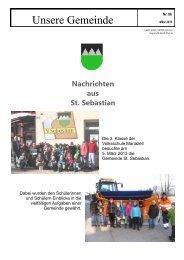 St. Sebastian März 2013 - Mariazellerland Blog