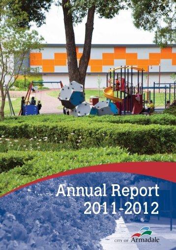 Annual Report 2011 - 2012 (PDF 10.4 MB) - City of Armadale