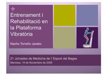 Entrenament i Rehabilitació en la Plataforma Vibratòria