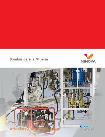 Bombas para la Minería - Minova