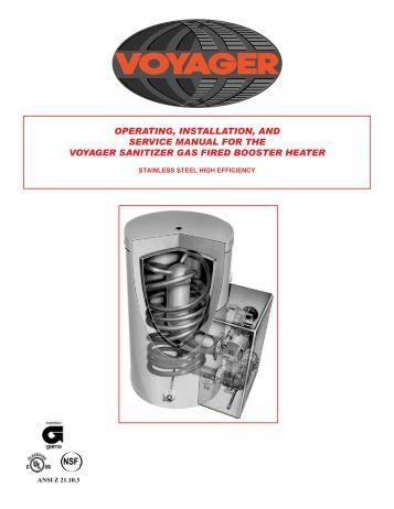 vulcan wall furnace service manual