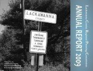 2009 Annual Report - Lackawanna County