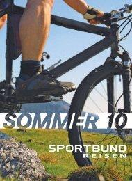 T OURINFOS - Sportbund Bielefeld