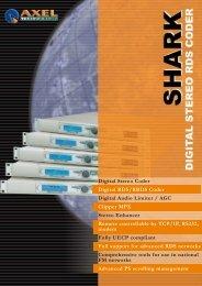 Digital Stereo Coder Digital RDS/RBDS Coder Digital Audio Limiter ...