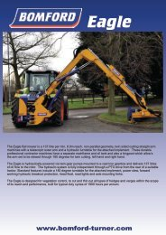 The Eagle flail mower is a 137 litre per min, 8.0m ... - Bomford Turner