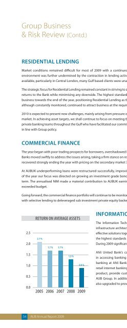 Annual Report - Ahli United Bank