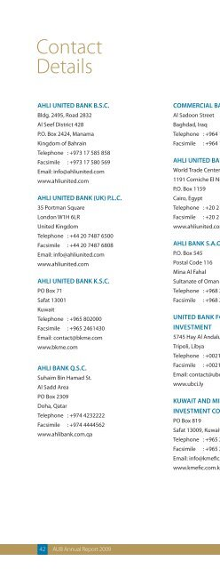 Annual Report - Ahli United Bank
