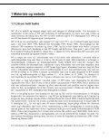 Kartlegging av hvitt fosfor, sprengstoff og metaller i ... - Forsvarsbygg - Page 7