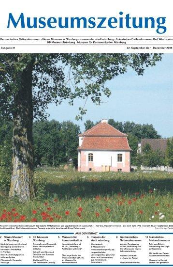 Museumszeitung, Ausgabe 31 vom 22. September 2009
