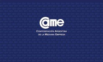 CAME - programa encuentro - Confederación Argentina de la ...